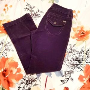 Polo stretch boot cut corduroy jeans